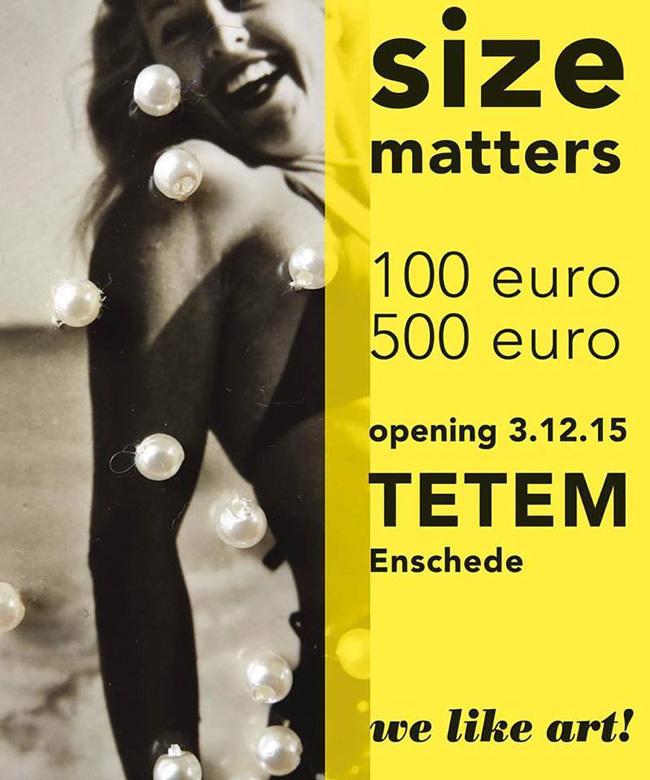 size matters exhibition we like art!