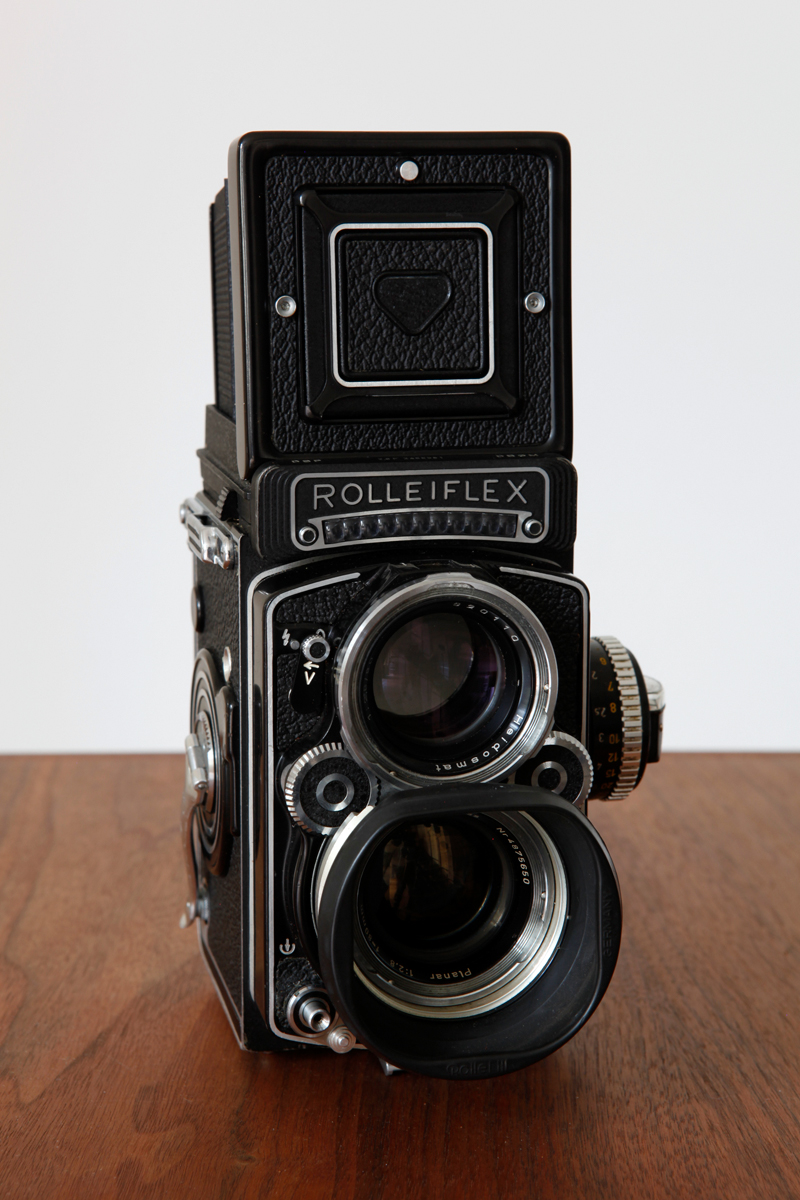 The Rolleiflex camera of Maria Austria I have been working with